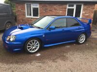 Wrx sti 350 bhp good condition drives well