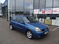 2005 05 RENAULT CLIO 1.1 EXTREME 4 DYNAMIQUE 16V 3d 75 BHP * GUARANTEED FINANCE *