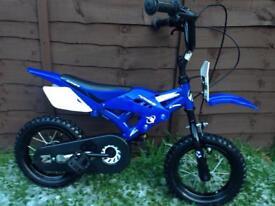 Boys motorbike style bike, ideal present