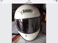 SHOEI XR 1100 CRYSTAL WHITE MEDIUM SIZE
