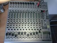 Behringer eurorack UB2442FX mixing desk studio or live band