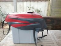 Motorbike Bagster tank cover and tank bag for Aprilia SL1000 Falco