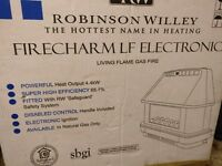 New Robinson Willey Gas Fire
