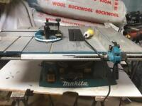 Makita table bench saw 110v