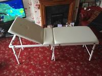 £80 Perfect condition beauty massage table