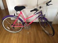 Woman's Emmele mountain bike with shimano gears