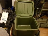 Carp fishing trakker cool box