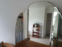 Romantic old mirror (a tryptich)