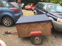 CAMPING BOX TRAILER 4FT X 3FT WITH COVER
