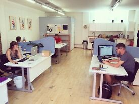 Full-Time and Part-Time Desks in Stokes Croft - 50% off first month