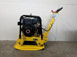 HOC C160D DIESEL REVERSIBLE PLATE COMPACTOR TAMPER + ELECTRIC START + 2 YEAR WARRANTY + FREE SHIPPING