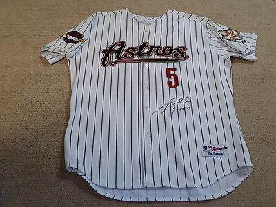 Jeff Bagwell 2005 World Series Signed Game Jersey Houston Astros HOF TriStar