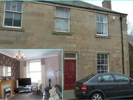 LOVELY 2 BEDROOM GROUND FLOOR FLAT WITH MAIN DOOR ENTRANCE TO LET IN CUPAR NEAR ST. ANDREWS.