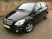 2010 Black Mercedes B160 SE 1.5 Automatic - Very low Mileage - New Tyres - Full Service history