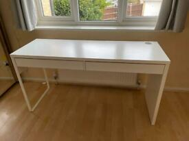 Large White IKEA Desk - Sits 1 or 2 People - Like New - £75, RRP £148