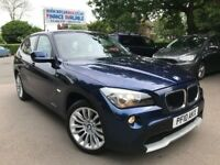FINANCE £111 PER MONTH 2010 BMW X1 SDRIVE 2.0 SE DIESEL 18D FULL HISTORY 1 YEAR MOT HPI CLEAR
