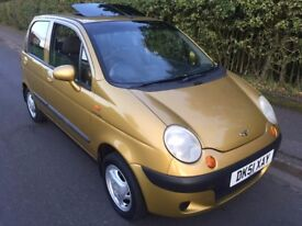 2001 DAEWOO MATIZ 0.8L PLUS 5 DOOR HATCHBACK LOW MILES