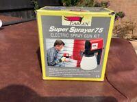 Earle Super Sprayer 75 Electric Spray Gun Kit