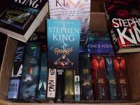 Stephen King Books (X18)