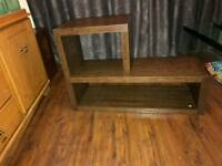 Next opus two tables tv stand, bookshelf , cd rack