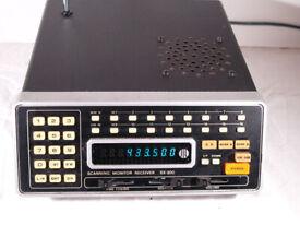 Jill SX-200 Scanner, Receiver, Monitor, VHF, UHF, AM, FM
