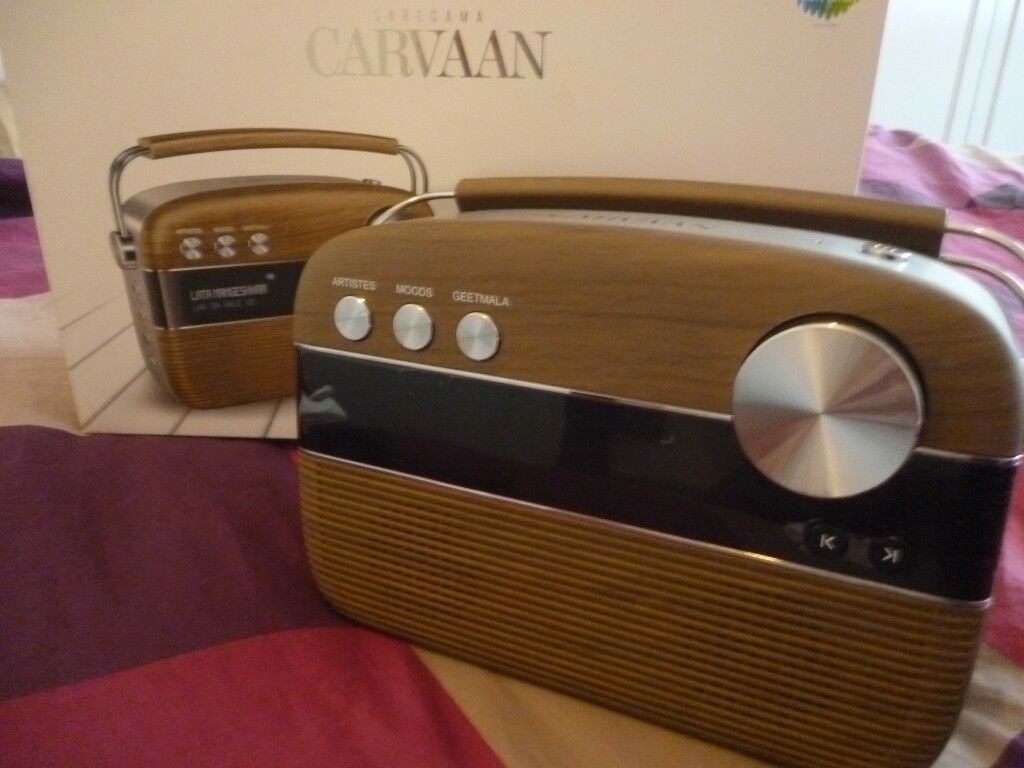 compact brand new saregama carvaan portable digital audio with 5000 built  in bollywood indian songs  | in Stanmore, London | Gumtree