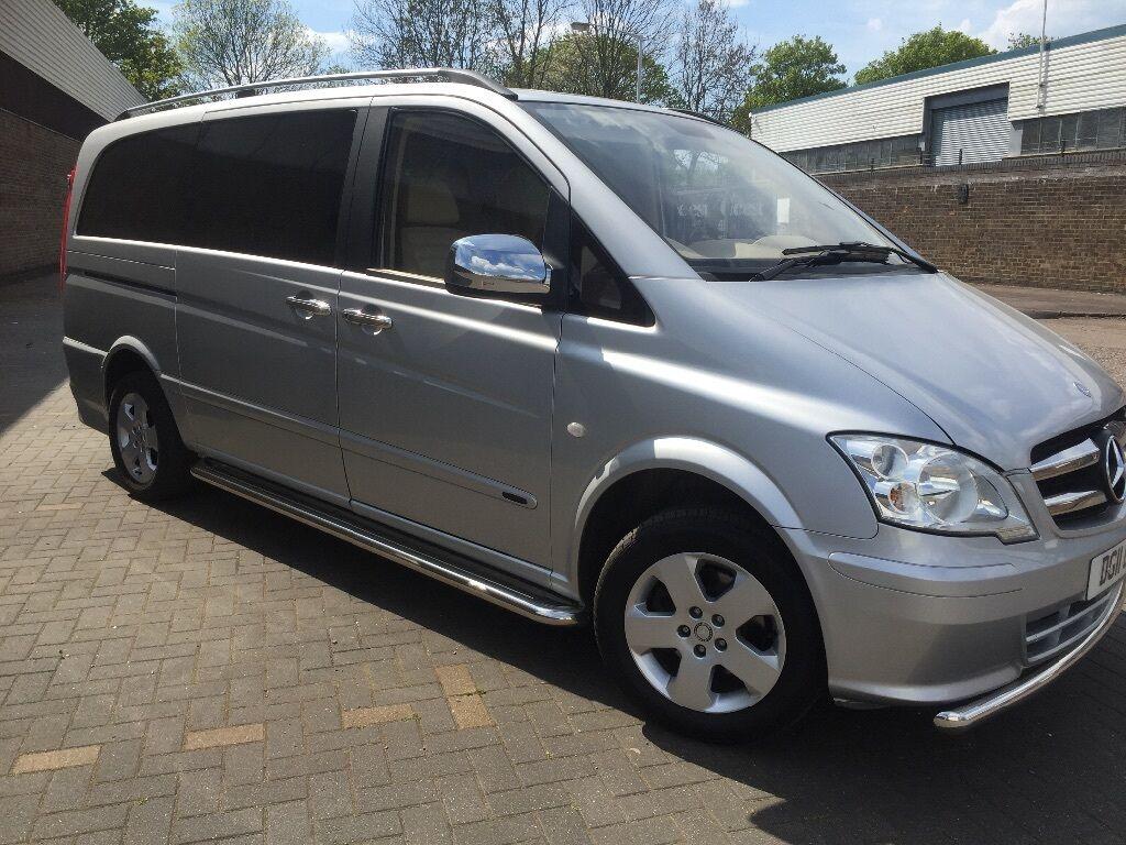 mercedes vito viano 7 seater executive shuttle minibus. Black Bedroom Furniture Sets. Home Design Ideas
