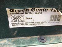 Green Genie 12000 Pond Filter and UV light system
