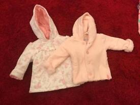 Baby girls winter coats