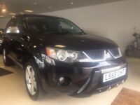 2008 58 MITSUBISHI OUTLANDER WARRIOR 2.0 DI-D FULL LEATHER DIESEL 4WD READY FOR WINTER!!!