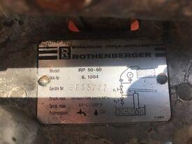 Rothenberg test pump