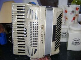 EXCELSIOR 120 BASS LIGHT WEIGHT LADIES MODEL ( MORE CHEAP ACCORDION FOR SALE )