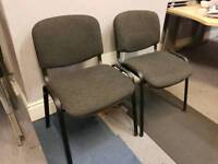 2x Office style chair, waiting room
