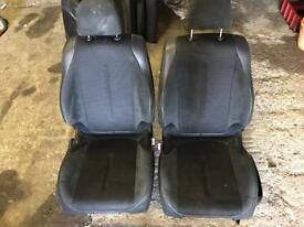 Citroe c4 half leather seats