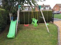 Swing & Slide - Little Tikes Strasbourg Wooden Swing and slide set