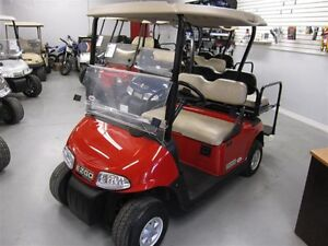 2013 e-z-go RXV RED Golf Cart 4 Seater