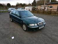 Rover 45 Diesel 5DR 2004 mot no advisory on mot certificate good condition