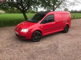 Vw caddy tdi (5 seater)
