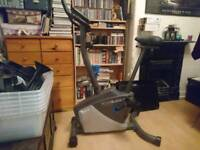 Roger Black exercise bike with LCD