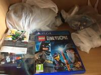 Lego dimension & 6 level pack
