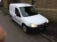 vauxhall combo 1.7 cdti , ONLY 84K, very reliable little van, runs and drives nice, cambelt done