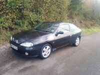Renault Megane Coupe 2.0 - F4R version. Low mileage, full MOT, unmolested
