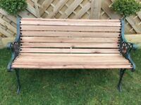 Fully restored vintage 4ft garden bench