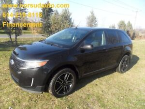 2014 Ford Edge SEL 4WD Cuir GPS Toit Panoramique