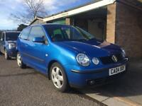 VW Volkswagen Polo 1.4 FSI Sport, Requires new fuel pump, Spare or Repair