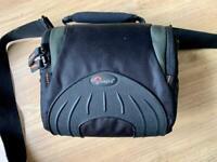 LowePro Apex 110AW camera bag.