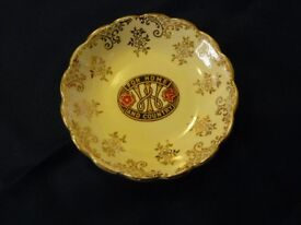 """""""FOR HOME AND COUNTRY"""" small 5"""" wide dish"""