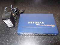 NETGEAR PROSAFE 8 PORT GIGABIT SWITCH
