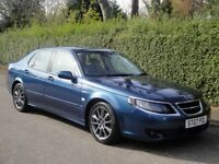 2007 SAAB 9-5 VECTOR SPORT TID DIESEL AUTOMATIC - ONLY 33,645 MILES for sale  Edinburgh City Centre, Edinburgh