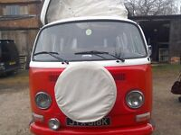VW t2 camper 1972 tax exempt